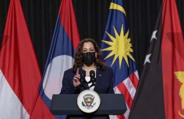 """Kamala Harris veut """"faire monter la pression"""" sur Pékin en mer de Chine méridionale"""