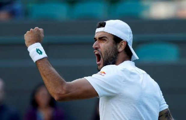 Wimbledon - Matteo Berrettini maakt affiche van halve finales compleet