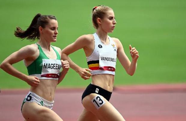 OS 2020 - Elise Vanderelst naar halve finales 1.500 meter
