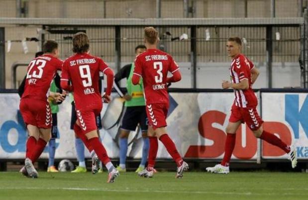 Bundesliga - Fribourg surprend Mönchengladbach