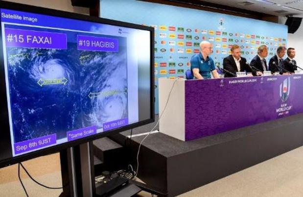 Angleterre/France et Nouvelle-Zélande/Italie annulés en raison du typhon Hagibis