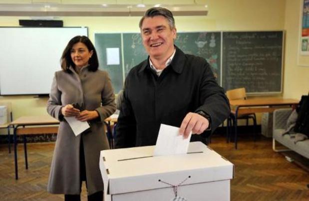 Le social-démocrate Zoran Milanovic élu président en Croatie