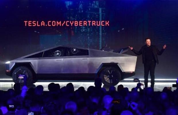 Tesla onthult elektrische pick-up