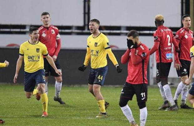 1B Pro League - L'Union Saint-Gilloise remporte le derby 0-2 au RWDM