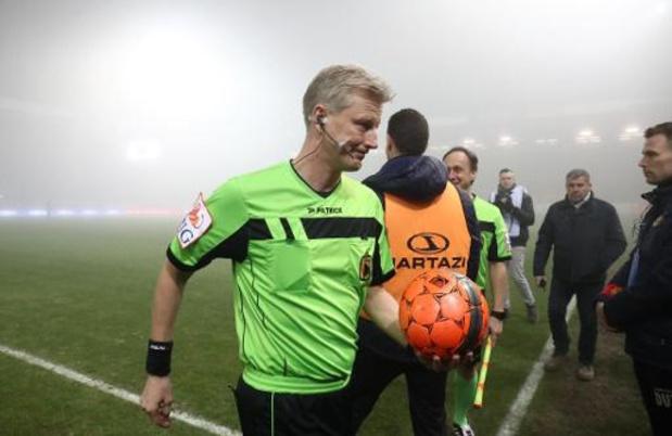 Jupiler Pro League - L'arbitre Dierick a bien fait d'arrêter Charleroi-FC Malines, estime De Bleeckere