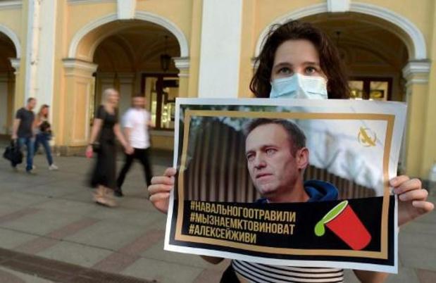 Toestand van Navalny is onstabiel, hij kan niet worden gerepatrieerd