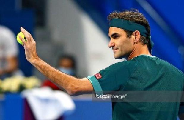 Retour gagnant pour Roger Federer après 13 mois d'absence
