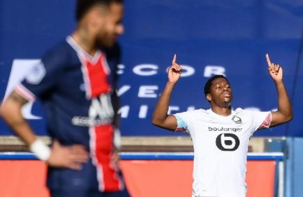Ligue 1 - Lille s'impose 0-1 au PSG et prend seul la tête de la Ligue 1 grâce à Jonathan David