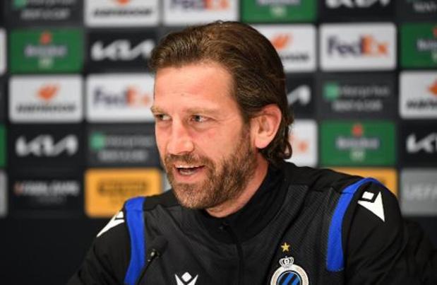 """Bas Dost wil met Club Brugge volgende ronde halen: """"Veel vertrouwen na 10 zeges op rij"""""""