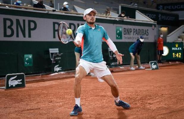 """ATP Monte-Carlo - Goffin sur le report de Roland-Garros: """"À cause de ça, la saison sur gazon sera écourtée"""""""