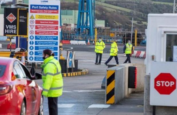 Irlande du Nord: Londres demande à l'UE un moratoire sur les dispositions post-Brexit