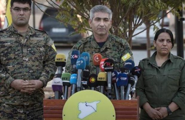Koerdische milities in Syrië trekken zich terug uit grensregio