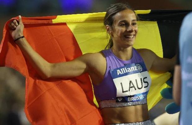 """Memorial Van Damme - Camille Laus zegeviert op 400 meter: """"Mijn mooiste koers van het seizoen"""""""