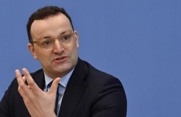 Duitse minister van Volksgezondheid wil grenzen niet sluiten