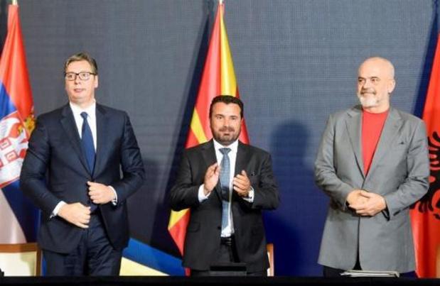 Servië, Noord-Macedonië en Albanië schaffen grenscontroles af