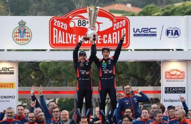 Cédric De Cecco au Monte-Carlo en WRC, Jamoul en WRC2, Cherain en WRC3 et Tsjoen en R5