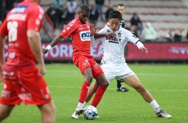 Jupiler Pro League - Charleroi arrache un point au bout du suspense à Courtrai
