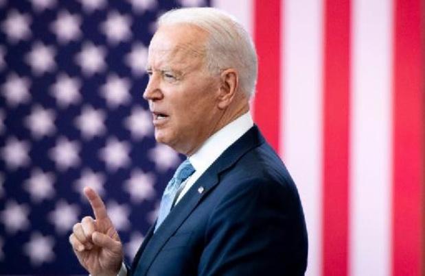 """Biden s'en prend aux républicains, accusés de """"saper"""" le droit de vote"""