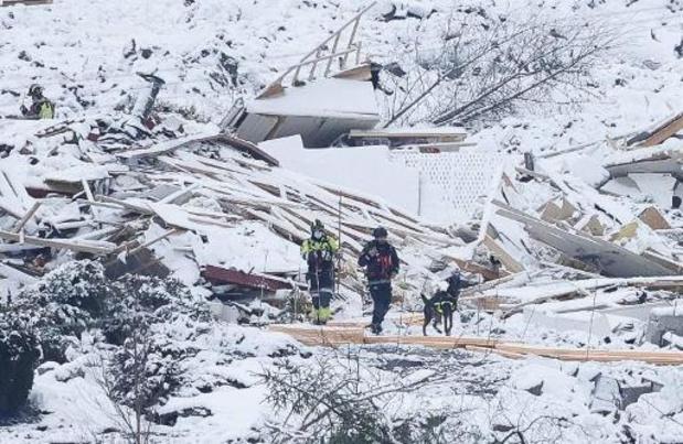Un cinquième corps retrouvé après le glissement de terrain en Norvège