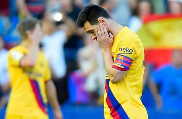 Primera Division - Troisième défaite de la saison du Barça, battu à Levante