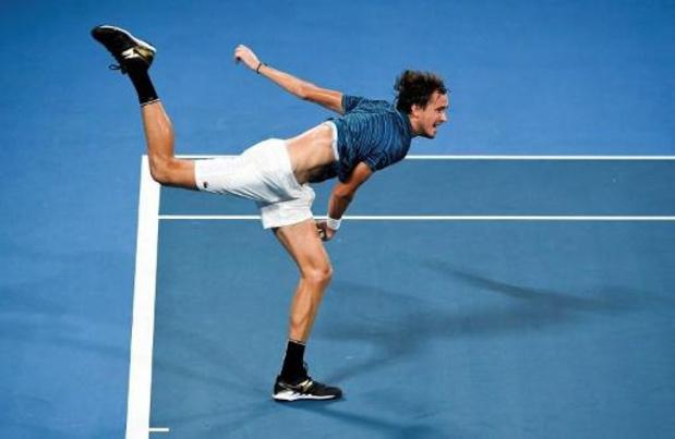 La Russie écarte l'Argentine et se hisse en demi-finales de l'ATP Cup
