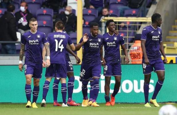 Zulte Waregem en Anderlecht openen 15e speeldag, Genk en Antwerp spelen zondag topper