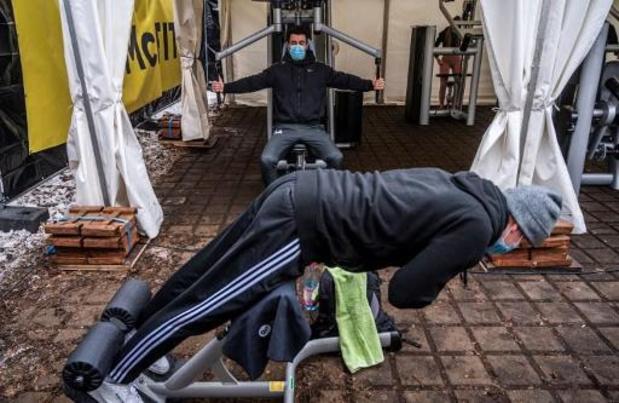 Fitnesscentra voeren actie voor heropening