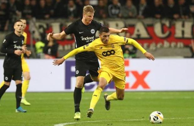 Europa League - Standard grijpt kansen niet en verlies in Frankfurt