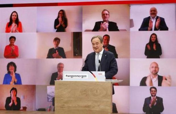 Armin Laschet wordt de nieuwe voorzitter van de Duitse christendemocraten