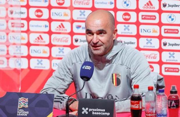 Roberto Martinez est confiant sur le rétablissement à temps de Romelu Lukaku
