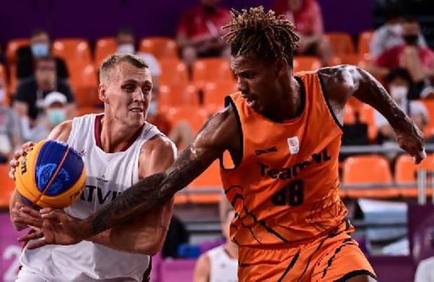 Belgen naar halve finales in 3x3 basketbal na nederlaag Nederland