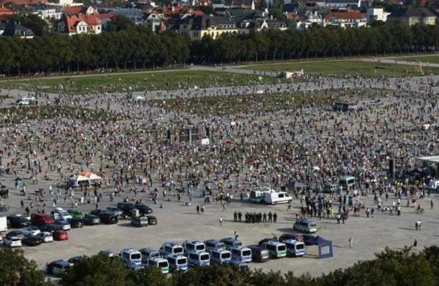 Coronavirus - 10.000 mensen betogen in München tegen coronamaatregelen