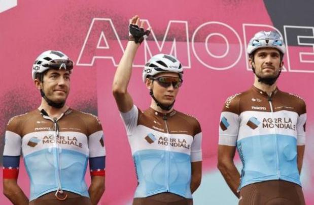 Tour d'Italie - Le Luxembourgeois Gastauer se casse une clavicule