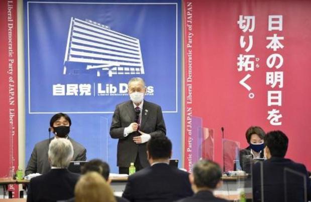"""Les femmes """"ont du mal"""" à être concises, selon le patron des JO de Tokyo"""