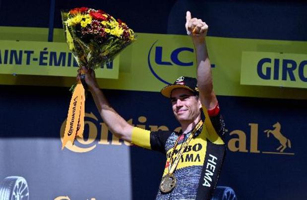 """Tour de France - Van Aert geniet van eerste tijdritwinst in Tour: """"Een van mijn grootste doelen"""""""