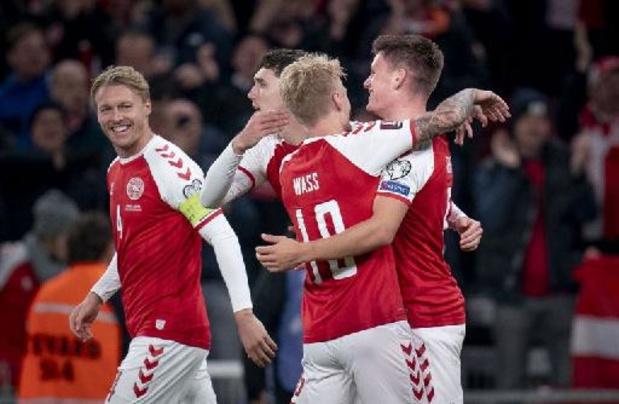 Kwal. WK 2022 - Na Duitsland plaatst ook Denemarken zich voor Qatar