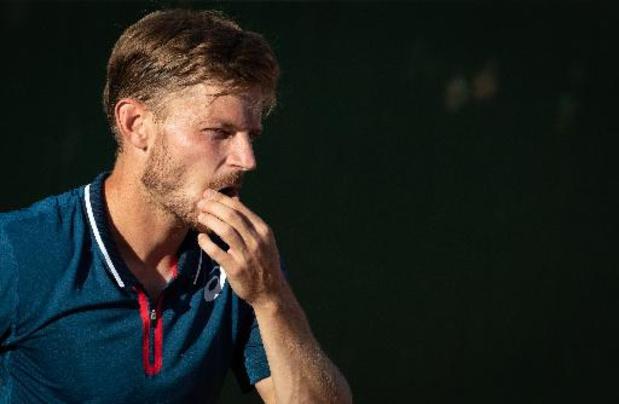 Classement ATP: David Goffin perd deux places et est désormais 15e