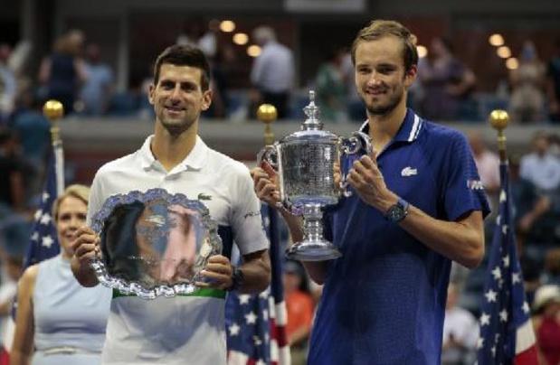 Classement ATP: Novak Djokovic toujours bien accroché à son trône, devant son bourreau Daniil Medvedev