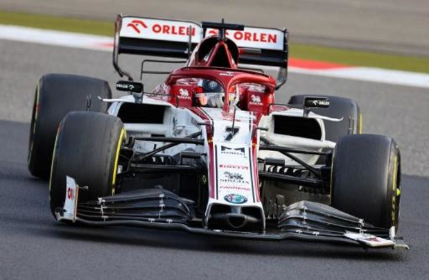 Kimi Räikkönen bat le record de départs en Grand Prix