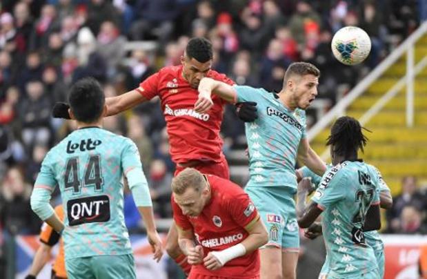 Charleroi et l'Antwerp ne pourront pas jouer leurs matches européens dans leur stade