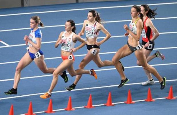 """Championnats d'Europe d'athlétisme en salle - Vanessa Scaunet éliminée en demi-finales: """"'j'ai presté au-delà de toutes les attentes"""""""