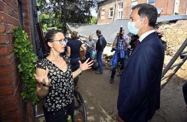 """Noodweer - """"België zal een aanvraag doen bij Europees Solidariteitsfonds"""""""