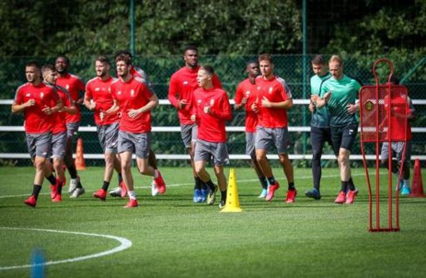 Le Standard a repris les entraînements avec son nouveau coach Philippe Montanier