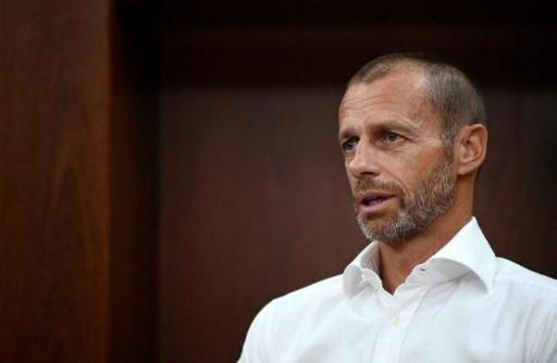 UEFA-voorzitter Ceferin wil idee van salarisplafond verder onderzoeken