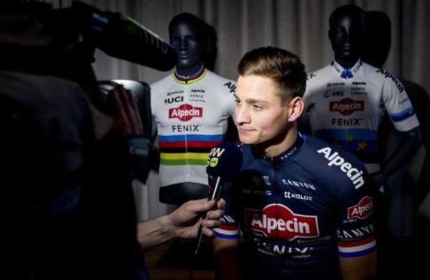 Mathieu van der Poel blijft tot de Spelen van 2024 mountainbiken