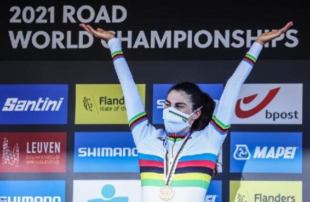 """Elisa Balsamo na winst WK: """"Ik kan het amper geloven"""""""