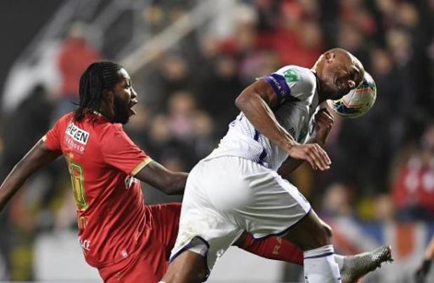 Jupiler Pro League - L'Antwerp et Anderlecht se quittent sur un match nul
