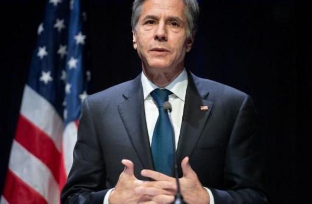 """Blinken assure que Washington """"ne fait pas obstacle à la diplomatie"""" à l'ONU"""