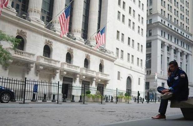 Stevige koersdaling op Wall Street