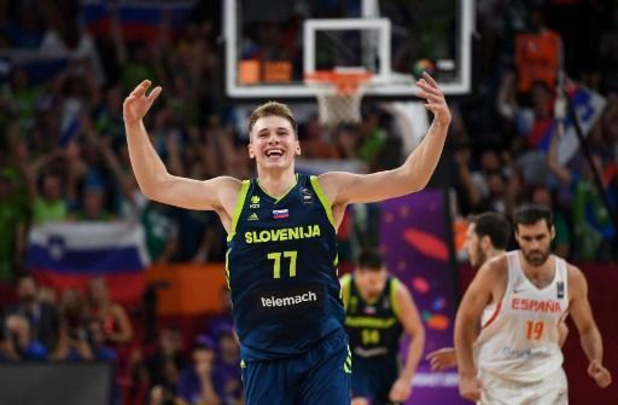 La Slovénie de Luka Doncic repêchée pour les tournois de qualification olympique